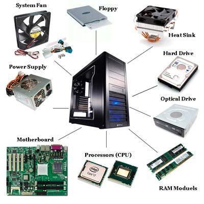 Diagrama de componentes de un ordenador
