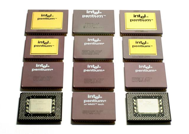 Familia de microprocesadores Intel