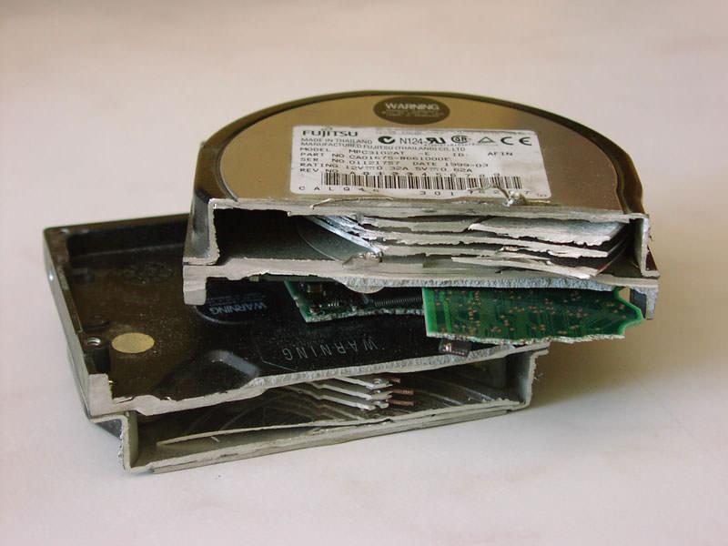Recuperar disco duro dañado