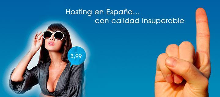 Hosting en España de calidad, barato e insuperable