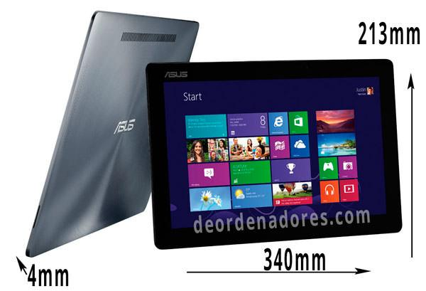 Dimensiones Asus Transformer Book TX300