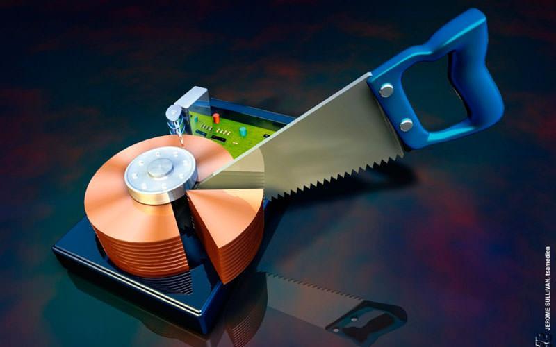 Desfragmentar discos duros en Windows