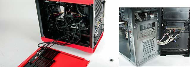 Partes de una caja de ordenador
