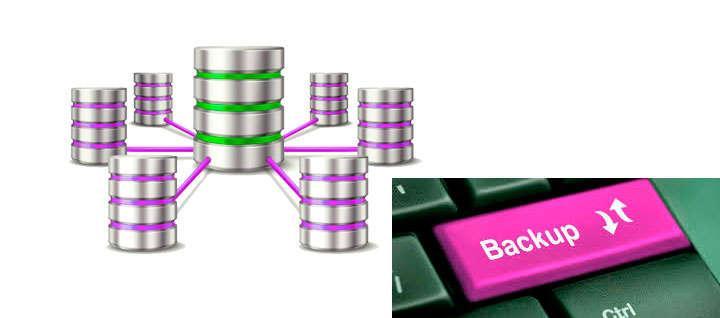 backup de una página web